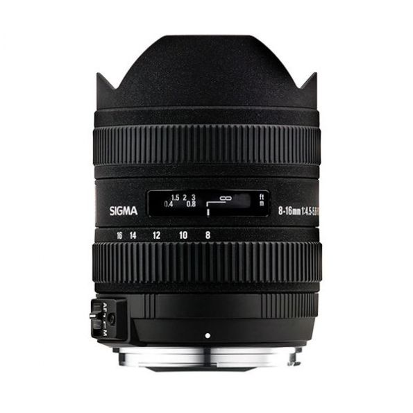 Sigma 8-16mm f/4.5-5.6 DC HSM Ultra-Wide Zoom Lens for Canon