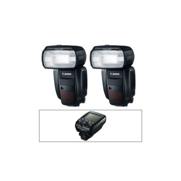 Canon Speedlite 600EX-RT Essential Two Flash Wireless Kit
