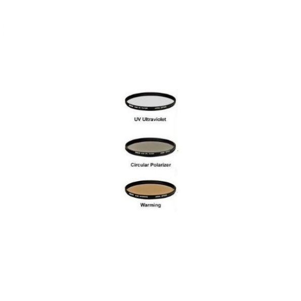 Precision 3 Piece Multi Coated Glass Filter Kit   (58mm)