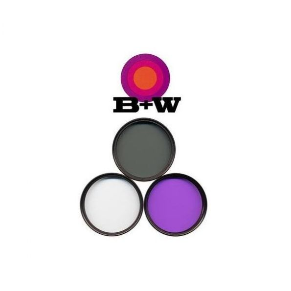 B+W 3 Piece Multi Coated Digital Filter Kit (67mm)
