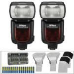 Nikon SB-910 Two-Flash AF Speedligh Essential Wireless Kit