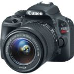 Canon EOS Rebel SL1 DSLR Camera with 18-55mm Lens